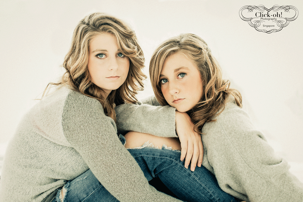 sisters photo shoot