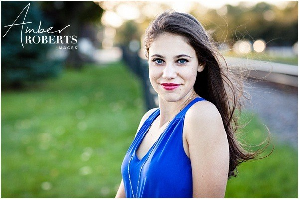 Senior portraits at Wayzata Depot